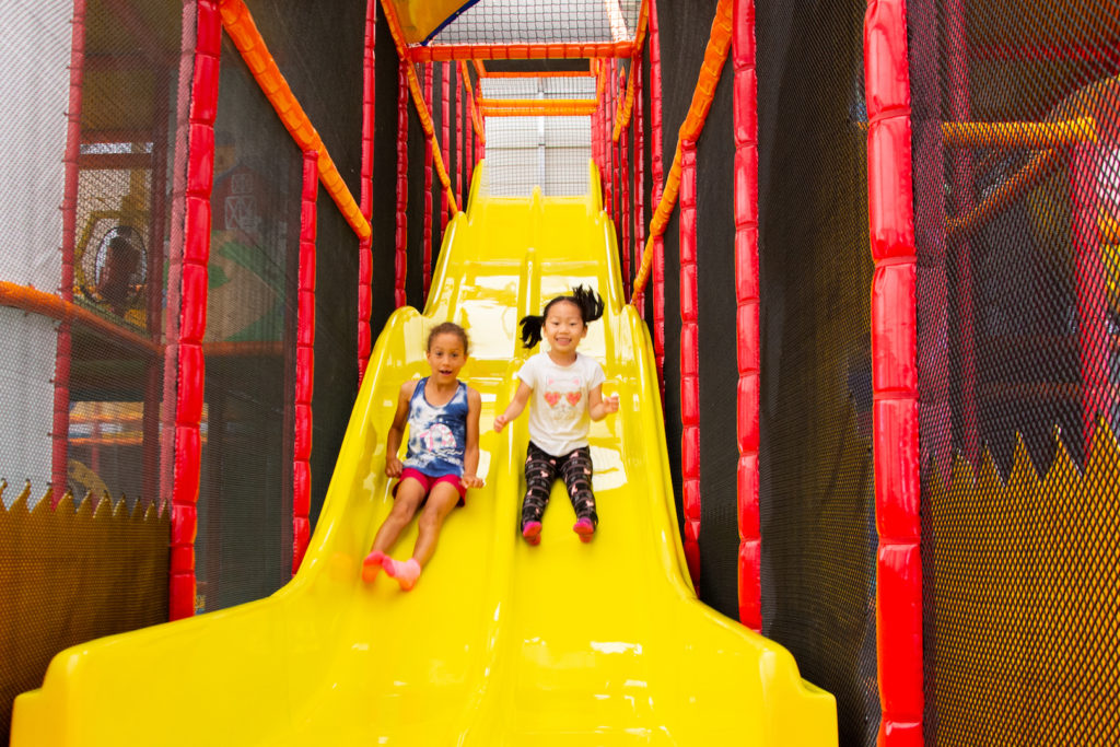 Rose Family Farm Playbarn slide